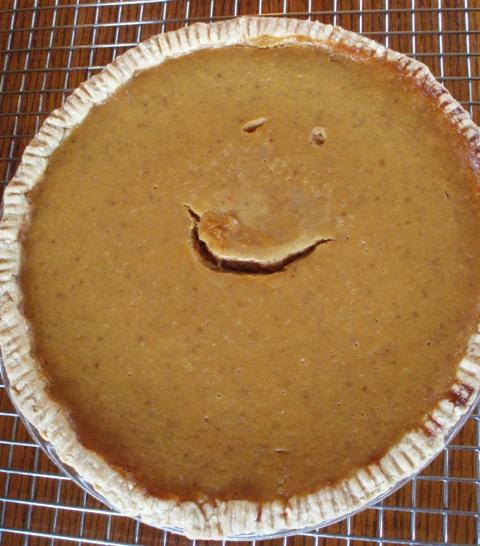 Smiley pie